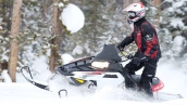 Polaris 600 Switchback Assault 144 В движении