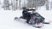 Снегоход Polaris Switchback PRO-X 600 В движении