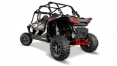 Polaris RZR XP 4 1000 EPS White Lightning Вид сзади