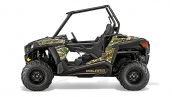 Polaris RZR 900 2015 Pursuit Camo Вид сбоку