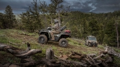 Квадроцикл Polaris Sportsman ETX 2015 В движении