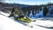 снегоход Polaris 800 PRO-RMK 174 2019 в движении