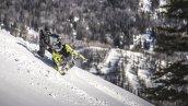 снегоход Polaris 850 SKS 155 ES 2019 в движении