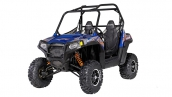 Мотовездеход Polaris RZR S 800 Blue Fire/Orange LE