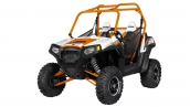 Мотовездеход Polaris RZR S 800 Orange/White LE