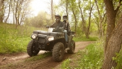 Polaris Sportsman X2 550 EPS В движении