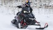 Снегоход Polaris 800 Rush PRO-X В движении