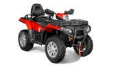 Квадроцикл Polaris Sportsman Touring 850 EPS 2014 Solar Red Общий вид