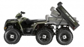 Квадроцикл Polaris Sportsman Big Boss 6x6 800 EFI Положения кузова
