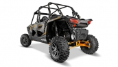Polaris RZR XP 4 1000 EPS Titanium Matte Metallic Вид сзади