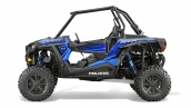Мотовездеход Polaris RZR XP 1000 EPS 2015 Voodoo Blue Вид сбоку