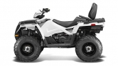 Квадроцикл Polaris Sportsman Touring 570 EFI Bright White Вид сбоку
