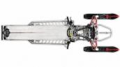 Polaris 800 Pro-RMK 163 Шасси Вид сверху