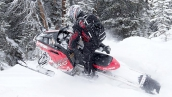 Polaris 800 Switchback Assault 144 В движении