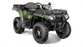 Polaris Sportsman X2 550 EPS Sage Green Общий вид