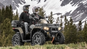 Квадроцикл Polaris Sportsman Touring XP 1000 2015 В движении
