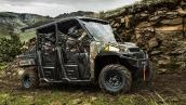 Polaris Ranger Crew 900 EPS Pursuit® Camo 2014 В движении