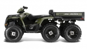 Квадроцикл Polaris Sportsman Big Boss 6x6 800 EFI Вид сбоку