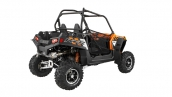 Polaris RZR 900 EPS Orange Madness LE Вид три четверти сзади