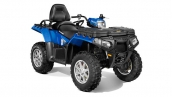 Квадроцикл Polaris Sportsman Touring 550 EPS Blue Fire Общий вид