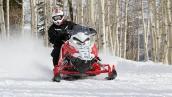 Снегоход Polaris 800 Rush PRO-S В движении