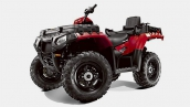 Polaris Sportsman X2 550 EPS Indy Red Вид в три четверти