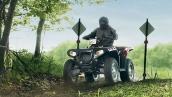 Квадроцикл Sportsman 550 EPS в движении