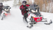 Polaris 800 Switchback Adventure В движении