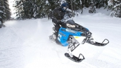 Polaris 600 Rush Pro-R В движении