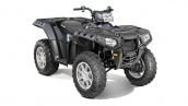 Polaris Sportsman 550 EPS Magnetic Metallic Общий вид