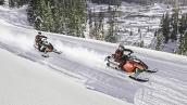 Снегоход Polaris 600 Indy SP В движении
