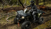 Квадроцикл Polaris Sportsman 570 EFI Forest В движении