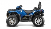 Квадроцикл Polaris Sportsman Touring 550 EPS Blue Fire Вид сбоку