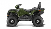 Квадроцикл Polaris Sportsman Touring 570 EFI Sage Green Вид сбоку