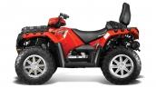 Квадроцикл Polaris Sportsman Touring 850 EPS 2014 Solar Red Вид сбоку