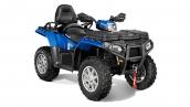 Квадроцикл Polaris Sportsman Touring 850 EPS 2014 Blue Fire Общий вид
