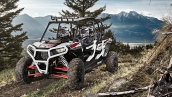 Polaris RZR XP 4 1000 EPS White Lightning В движении