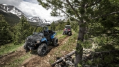 Квадроцикл Polaris Sportsman Ace 570 2015 В движении