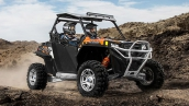 Polaris RZR 900 EPS Orange Madness LE В движении
