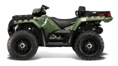 Polaris Sportsman X2 550 EPS Sage Green Вид сбоку
