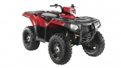Квадроцикл Sportsman 550 EPS Indy Red