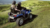 Квадроцикл Polaris Sportsman Touring 550 EPS В движении