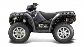 Polaris Sportsman 550 EPS Magnetic Metallic Вид сбоку