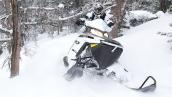 Снегоход Polaris 600 Pro-RMK 155 В движении