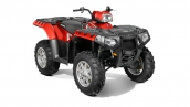 Polaris Sportsman 550 EPS Sunset Red Общий вид