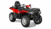 Квадроцикл Polaris Sportsman Touring 550 EPS Solar Red Общий вид