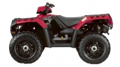 Квадроцикл Polaris Sportsman 550 EPS Indy Red 2
