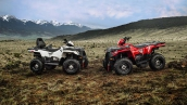 Квадроцикл Polaris Sportsman Touring 570 EFI В движении