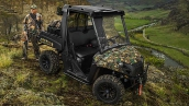 Polaris Ranger 570 EFI Pursuit® Camo 2014 В работе