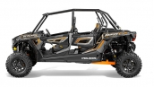 Polaris RZR XP 4 1000 EPS Titanium Matte Metallic Вид сбоку